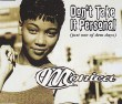 Monica Don't Take It Personal (just One Of Dem Days) (5 Tracks Cd Maxi Single)