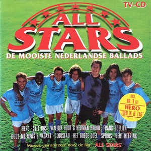 All Stars, De Mooiste Nederlandse Ballads - Soundtrack