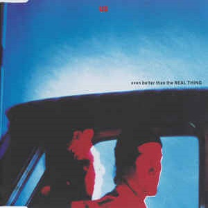 U2 - Even Better Than The Real Thing (4 Tracks Cd-Single)