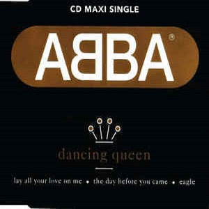 ABBA - Dancing Queen (4 Tracks Cd-Maxi-Single)