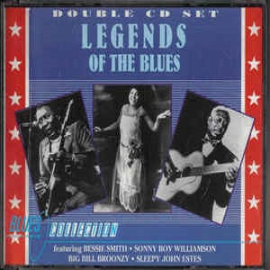 Legends Of The Blues - Diverse Artiesten