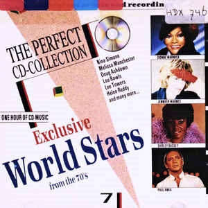 Exclusive World Stars From The 70's - Diverse Artiesten