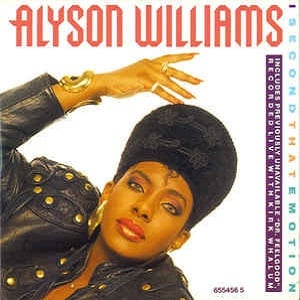 Alyson Williams - I Second That Emotion (4 Tracks Cd-Single)