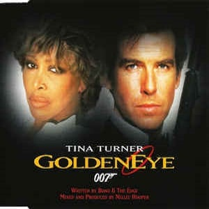 Tina Turner - GoldenEye (4 Tracks Cd-Maxi-Single)