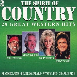 The Spirit Of Country - 28 Great Western Hits - Diverse Artiesten