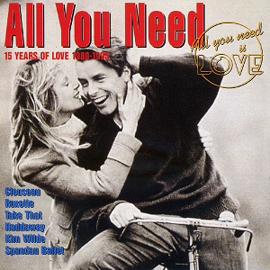 All You Need Vol. 1 - 15 Years Of Love 1980 - 1995 - Diverse Artiesten