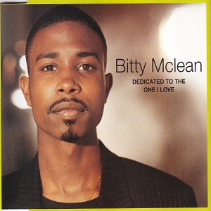 Bitty Mclean - Dedicated To The One I Love (4 Tracks Cd-Maxi-Single)