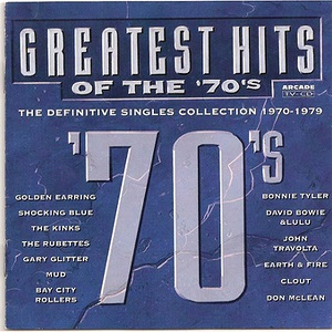 Greatest Hits Of The '70's (The Definitive Singles Collection 1970-1979) - Diverse Artiesten