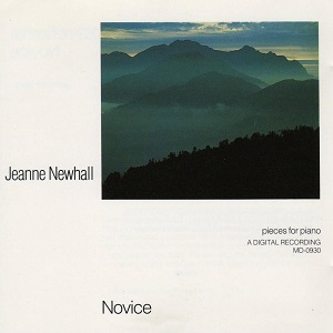 Jeanne Newhall - Novice (Pieces For Piano)